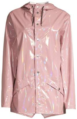 Rains Waterproof Holographic Jacket