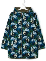 Stella McCartney palm tree print parka - kids - Cotton/Polyester - 14 yrs