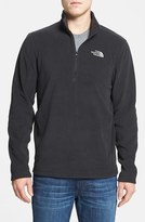 The North Face Men's 'Tka 100 Glacier' Quarter Zip Fleece Pullover