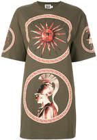 Fausto Puglisi long printed T-shirt
