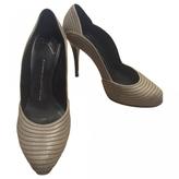 Giuseppe Zanotti Wavy heels leathers