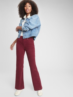 Gap High Rise Vintage Flare Cords