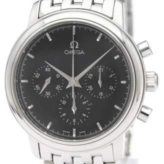 Omega De Ville Black Steel Watches