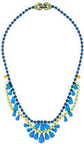 Tom Binns Crystal and Enamel Collar Necklace