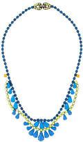Tom Binns Crystal and Enamel Collar Necklace