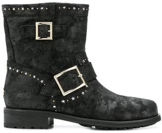 Jimmy Choo Star Embellished Boots