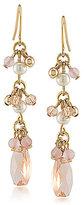 Lauren Ralph Lauren Two Dozen Roses Linear Drop Earrings