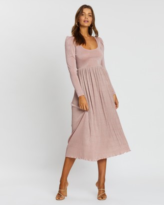 Atmos & Here Hope Sparkle Midi Dress