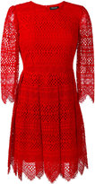 Twin-Set embroidered dress - women - Cotton/Polyamide/Polyester/Viscose - 42