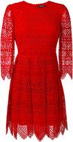 Twin-Set embroidered dress - women - Cotton/Viscose/Polyamide/Polyester - 38