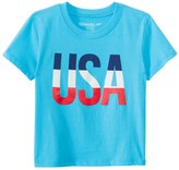 Speedo Unisex Toddler USA Tee Shirt 8146978