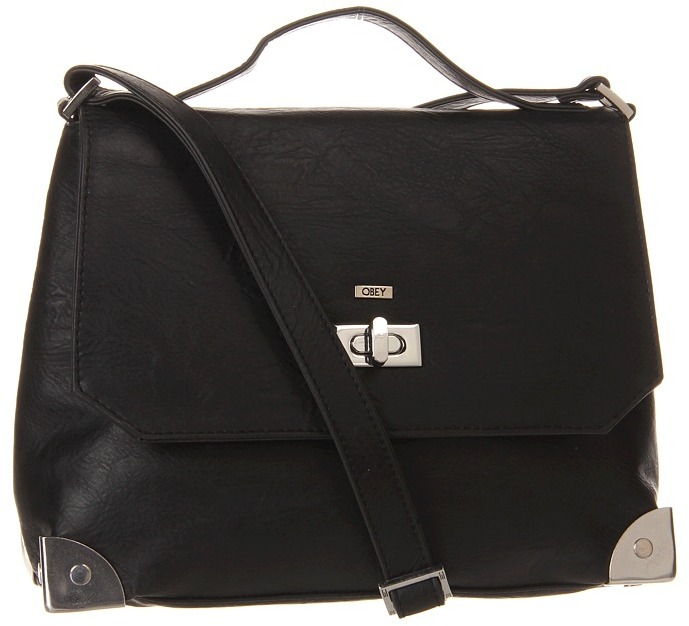 Obey Cloud 9 Satchel (Black) - Bags and Luggage