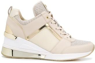 MICHAEL Michael Kors Metallic Panel Sneakers