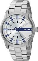 Diesel Men's 'Armbar' Quartz Stainless Steel Casual Watch, Color:-Toned (Model: DZ1852)