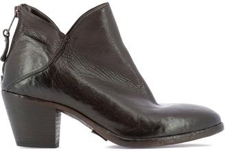 Elena Iachi Block Heel Ankle Boots