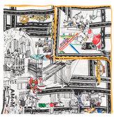 Faliero Sarti New York scarf
