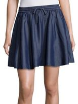J Brand Relaxed-Fit Flared Skirt