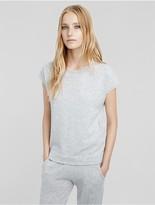 Calvin Klein Collection Cashmere Cap Sleeve Sweater