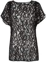 Martha Medeiros sheer lace blouse