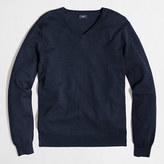 J.Crew Factory Tall harbor cotton V-neck sweater
