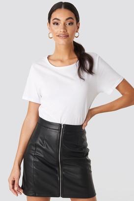 Hoss X NA-KD High Waist Zipped Skirt
