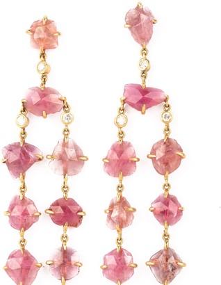 Burma Stone Earrings