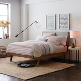 west elm Modern Bed - Linen Weave