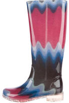 Missoni Abstract Knee-High Rain Boots
