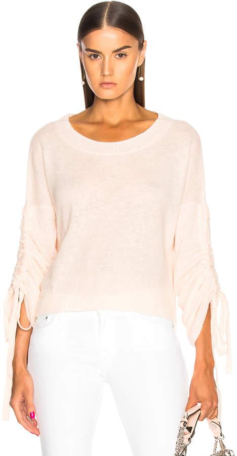 A.L.C. (エーエルシー) - A.L.C. Zora Sweater in Petal & White Melange | FWRD