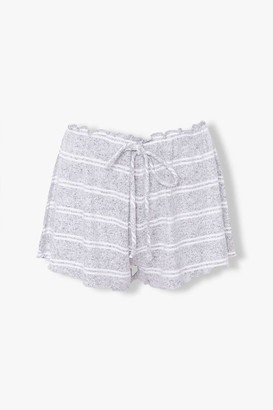 Forever 21 Striped Lounge Shorts