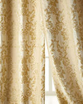 """Two 50""""W x 96""""L Antoinette Curtains"""