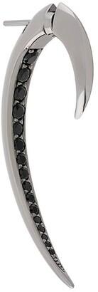 Shaun Leane black spinel Hook earring