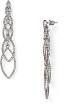 ABS by Allen Schwartz Navette Linear Earrings
