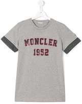 Moncler logo T-shirt - kids - Cotton - 14 yrs