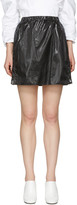 Kenzo Black Parachute Miniskirt