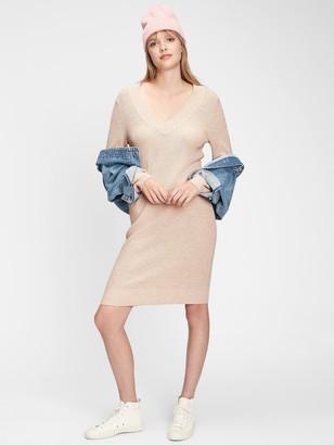 Gap V-Neck Sweater Dress