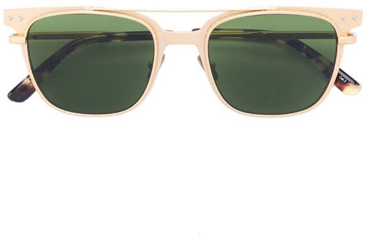 Bottega Veneta embellished square frame sunglasses