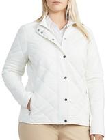 Lauren Ralph Lauren Plus Quilted Barn Jacket