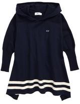 Vineyard Vines Girl's Hooded Sweater Poncho