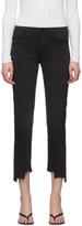 Frame Grey Le High Straight Jeans