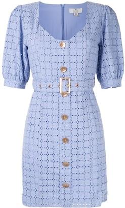 We Are Kindred Vienna crochet mini dress