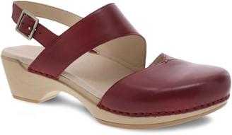Dansko Closed Toe Adjustable Leather Sandals -Kristy