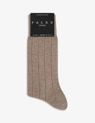 Falke Lhasa ribbed wool and cashmere-blend socks