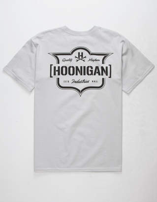 Hoonigan Emblem Mens T-Shirt
