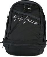 Yohji Yamamoto signature print backpack