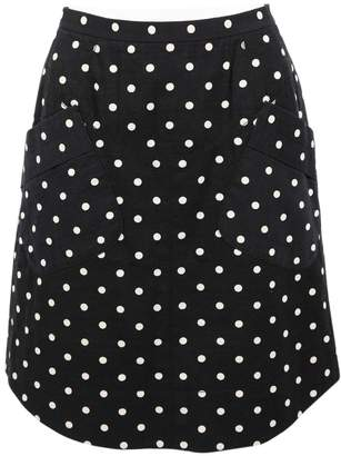 Marc Jacobs Black Cotton Skirts