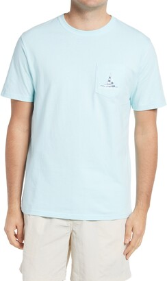 Southern Tide Catamaran Sail Away Pocket Graphic Tee
