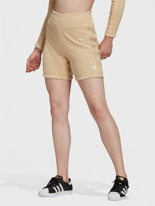 adidas Relaxed Risque Soft Knit Short - Beige