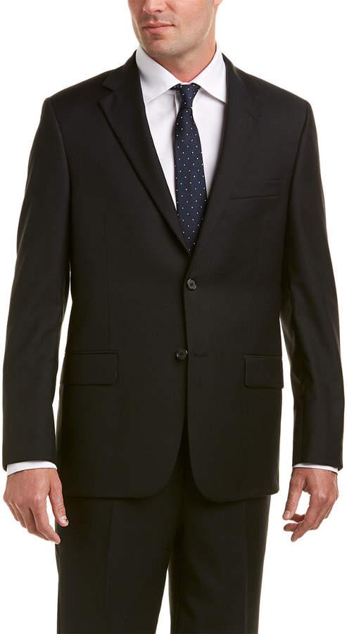 Hickey Freeman Milburn Ii Wool Suit With Flat Pant