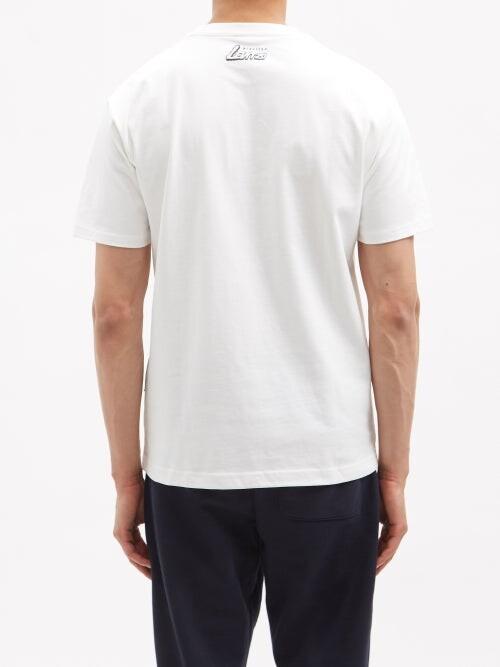 Thumbnail for your product : New Balance Levitzo Logo-print Cotton-jersey T-shirt - White